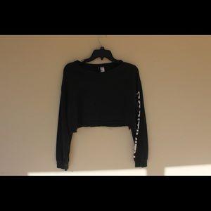 H&M Divided Crop Sweatshirt